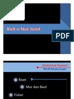 Materi Sambungan Baut Mur