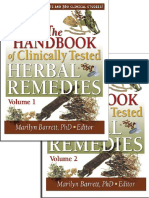 23592618 the Handbook of Clinically Tested Herbal Remedies