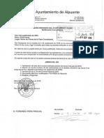 Convocatoria Pleno Ordinario 09-09-2016, Ayuntamiento de Alpuente