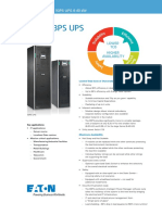Eaton 93PS UPS Datasheet Lowres