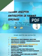 Teknik Septik Antiseptik Kamar Operasi