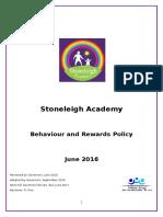 Behaviour Policy Stoneleigh Academy 2016 FINAL