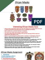 african masks ppt pdf