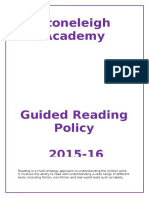 Guided Reading Policy 2015