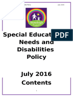 SEN Policy - July 2016