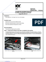 "Brother - HL4040CN - ""No Waste Toner"" Error"