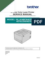 Brother - HL4140CN, 4150CDN, 4570CDW - Manual Service.pdf