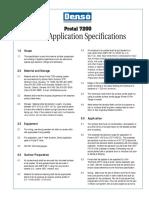 Denso Protal 7200 Brush Application Spec
