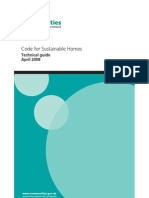 Code for sustainable homes: version 2 may 2009: dclg: 9781859463307.