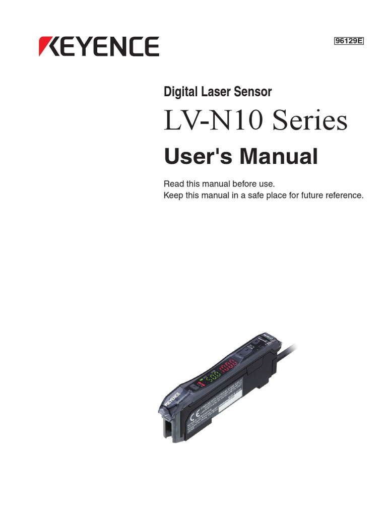 Digital Laser Sensor (Ashton) | Electrical Connector | Power Supply