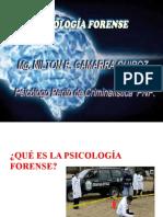 Psicología forense y psiquiatría forense