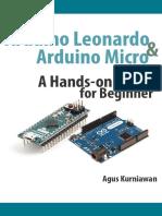Arduino Leonardo and Arduino Micro a Hands-On Guide for Beginner - Agus Kurniawan