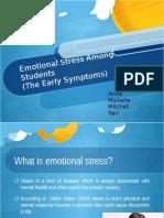 Emotional Stress Among Students