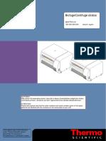 Parts List - Heraeus - Sorvall - Biofuge Stratos, Contifuge Stratos - 120v, 200v, 208v, 240v