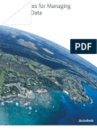 Best Practices for Managing Geospatial Data