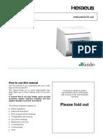 Sorvall Primo-User Manual