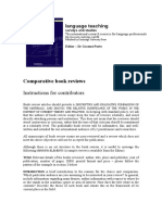 Comparative Book Review (for Contributors)