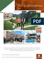 Ven a Conocer Los Avances Del Club Residencial Cumbres de La Arboleda