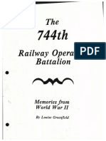 744th Railway Operating Battalion