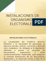 Instalaciones de Organismos Electorales