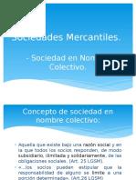 Sociedades Mercantiles S en N.C.