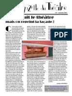 La Gazette du théâtre de  Poitiers n°09