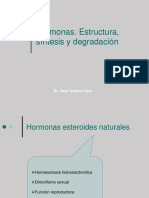 hormonas estructura síntesis y degradación 2015