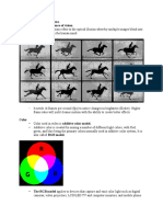Key Terms of Image and Color