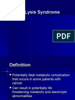 Tumor Lysis Syndrome- By Carol Viele RN, MS, CNS, OCN