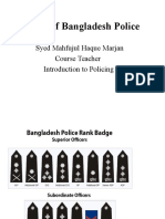 Units of Bd Police