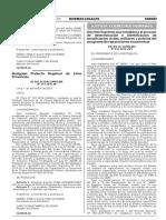 Decreto Supremo Rep Econ RUV