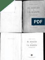 Georg Lukacs El Asalto a La Raz n BookZZ.org