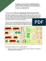 PAISA Briefs