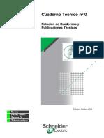 (CT 0) Relación de Cuadernos y Publicaciones Tecnicas (2004)