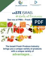 Taste Israel @ PMA 2016