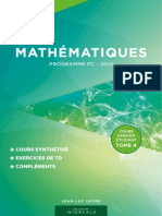 Interface - Tome 4 - Cours Version Étudiant - PC 2014