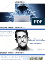 Expert FSO Insider Threat Awareness