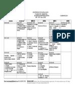 Cronograma Metodología jurídica