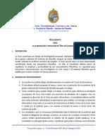 Reglamento de Tesis de Licenciatura