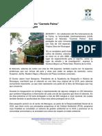 UCA Inaugura Arboreto