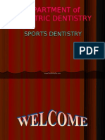 Sports Dentistry Pedo