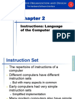 Instructions Language of the Computer