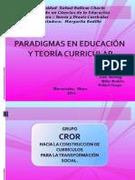 EXP TEORIA Y PRAXIS CURRICULAR  9 DE MAYO 2014.ppt