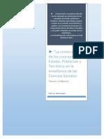 Didáctica de Las Cs Sc Estado, Territorio y Población - Para Combinar