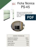 FICHA TECNICA PS-45