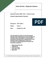 Keyword Protocol 2000 - Part 1 - Physical Layer - Swedish