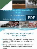 Socio-economic Aspects ICZM 2014