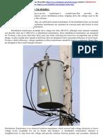 Distribution Transformer (in Details)
