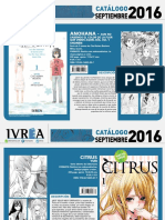 Proximas Novedades Ivrea - Septiembre 2016