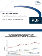 LPS Mortgage Monitor May 2010 Mortgage Performance Observations